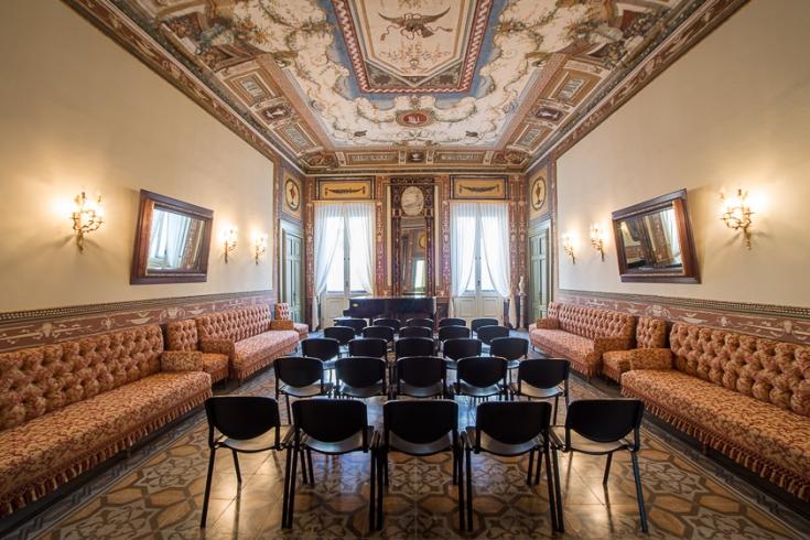 Sala Etrusca Palazzo Pesce Mola di Bari