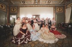 La danza in un salotto ottocentesco Palazzo Pesce