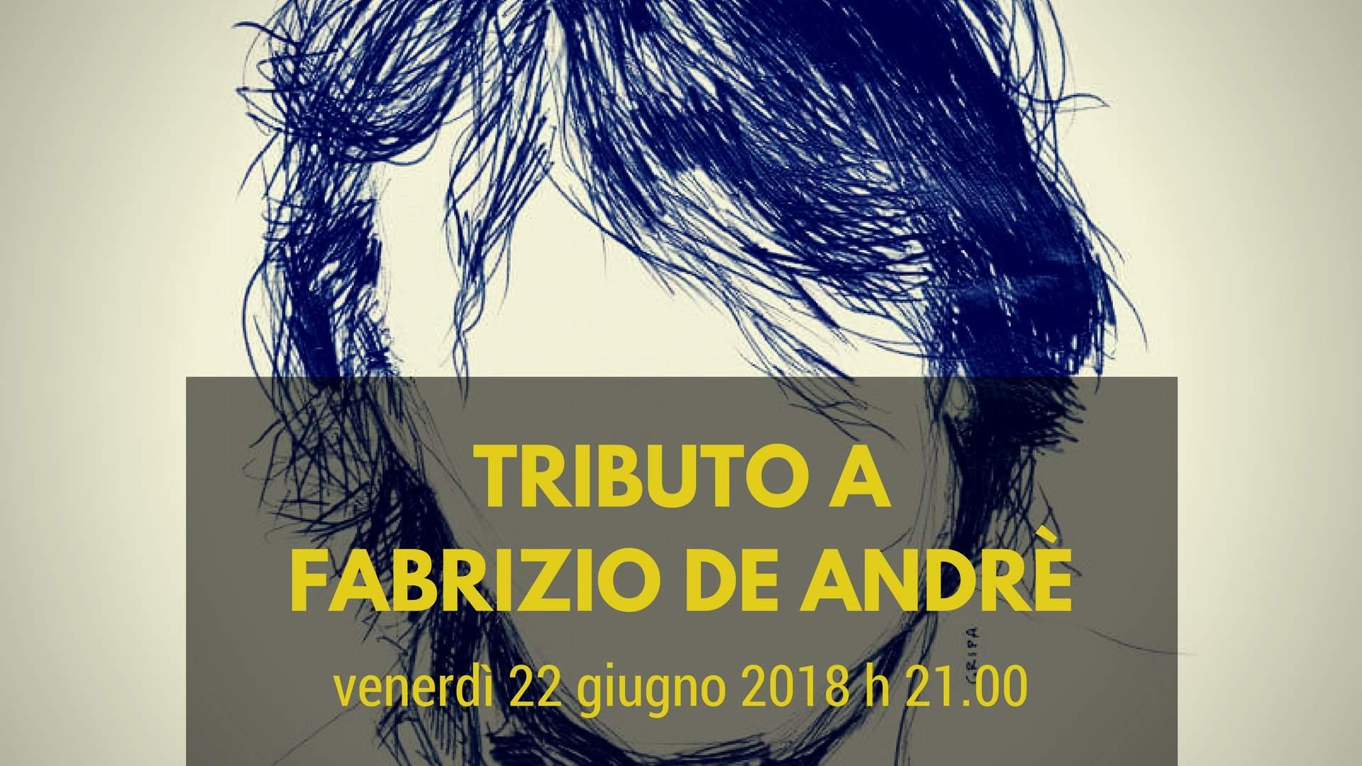 22 giugno 2018 Tributo a De Andrè a Palazzo Pesce