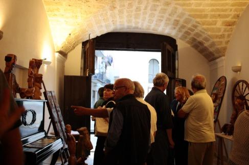 Vernissage Antonio Santo @Palazzo Pesce