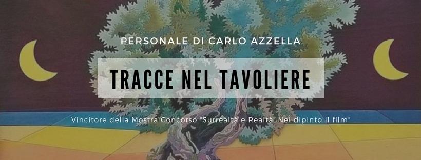 21 luglio 2018 Mostra personale Carlo Azzella a Palazzo Pesce