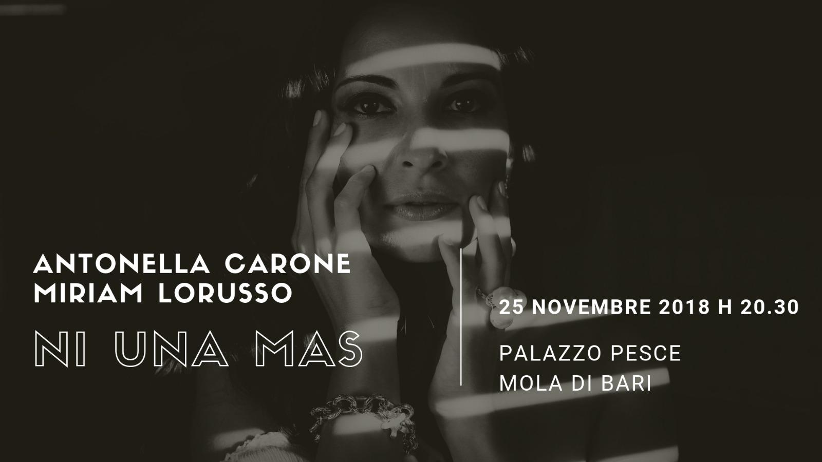 25 novembre 2018 Ni una mas a Palazzo Pesce