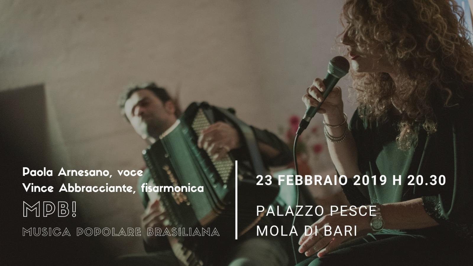 23 febbraio 2019 MPB a Palazzo Pesce