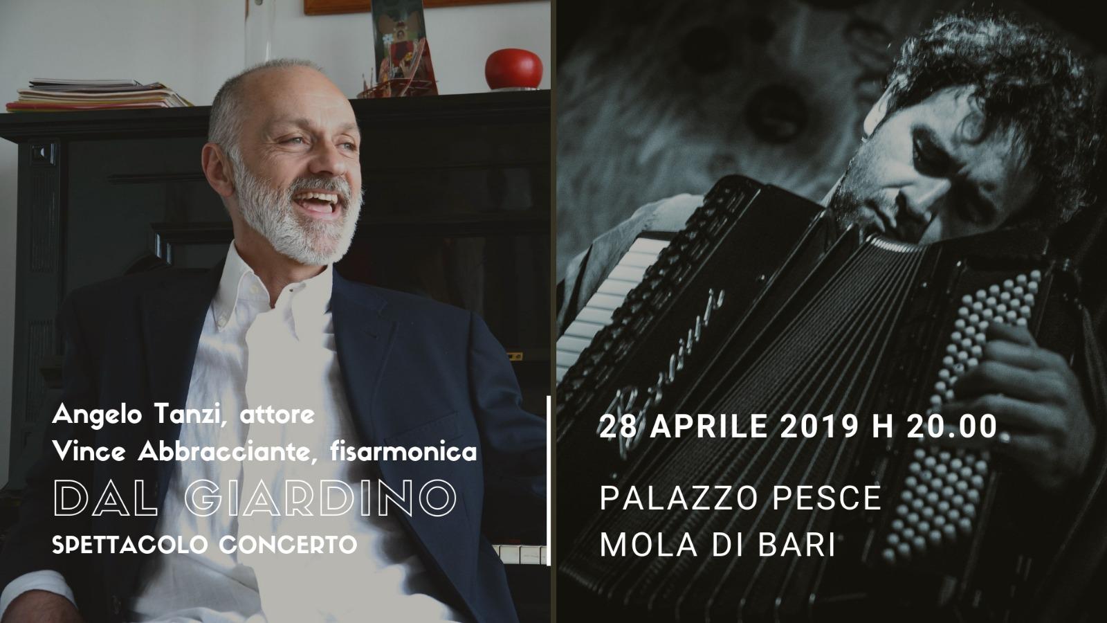 28 aprile 2019 Dal giardino Angelo Tanzi a Palazzo Pesce