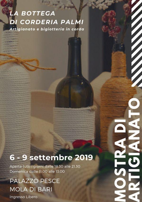 Locandina 6 - 9 settembre 2019 Palazzo Pesce