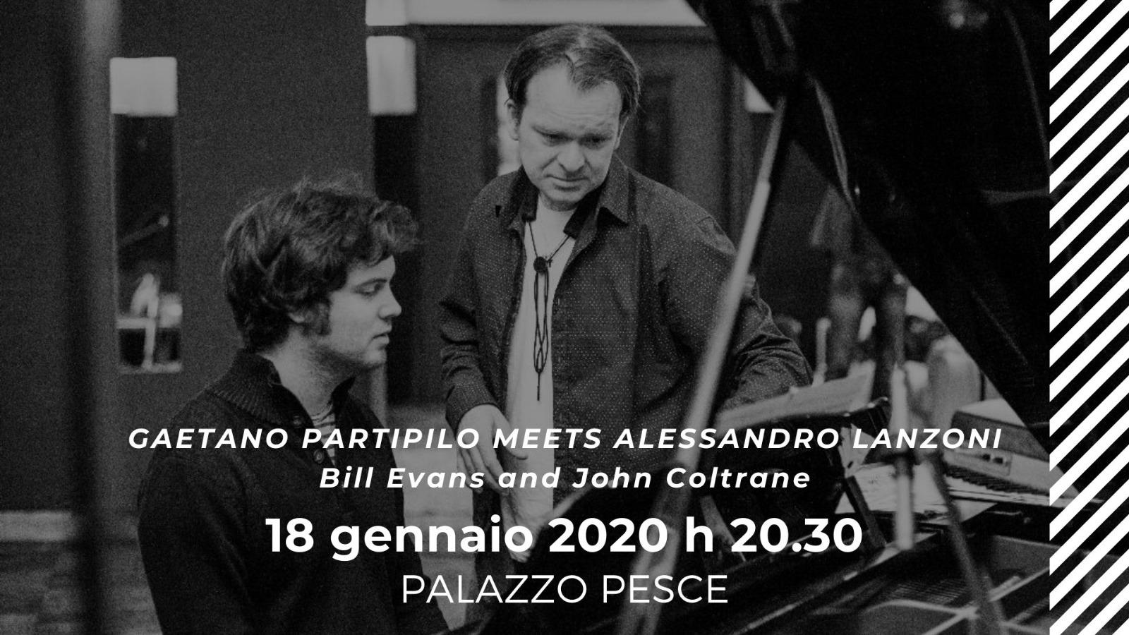 18 gennaio Partipilo Lanzoni a Palazzo Pesce