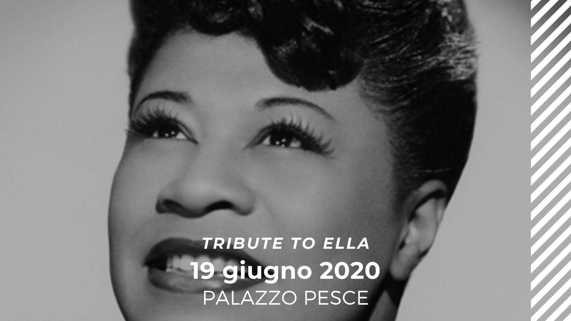 19 giugno 2020 Omaggio a Ella Fitzgerald a Palazzo Pesce