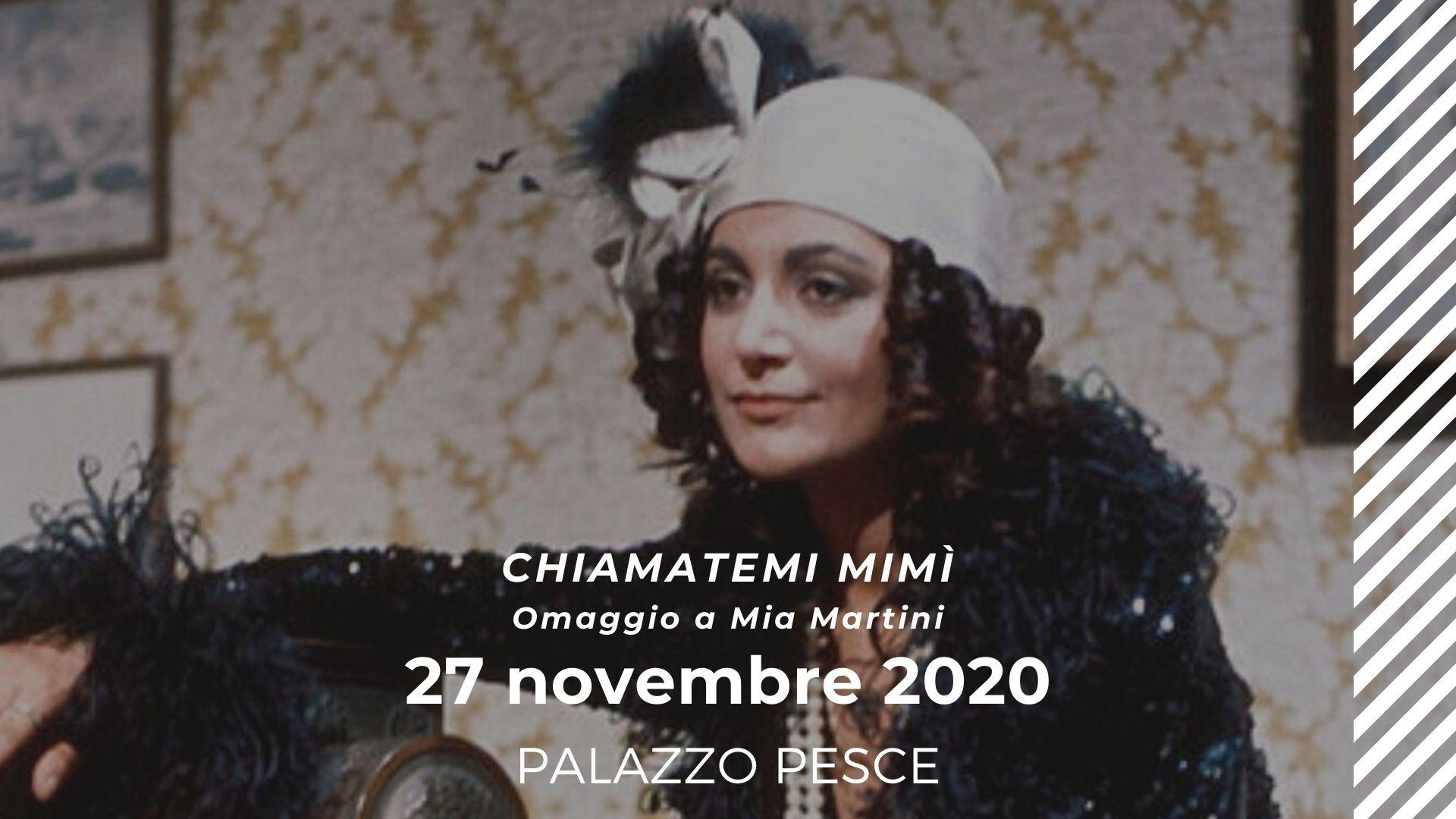 27 novembre Omaggio a Mia Martini a Palazzo Pesce