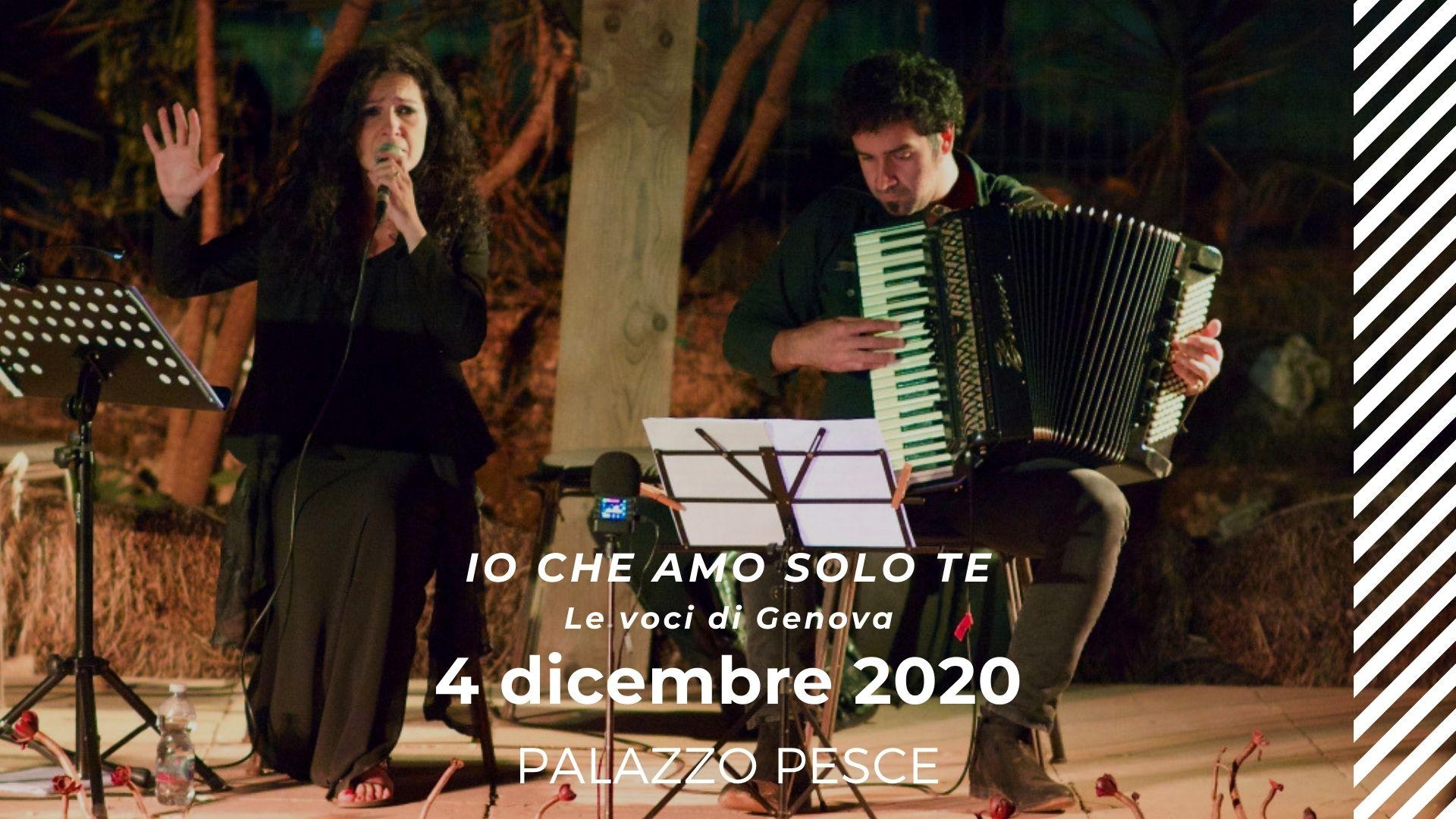 4 dicembre 2020 le voci di genova a Palazzo Pesce
